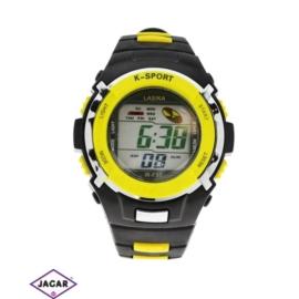 Zegarek męski - żółty - szer: 4,5 cm Z125