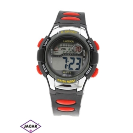 Zegarek dziecięcy - czarny - szer: 4 cm Z143