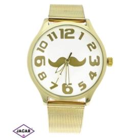 Zegarek damski - złoty - szer: 4 cm Z146