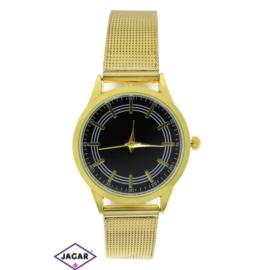 Zegarek damski - złoty - szer: 4 cm Z150