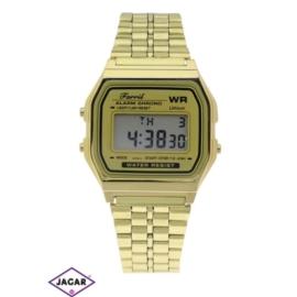 Zegarek męski - złoty - szer: 4 cm Z151