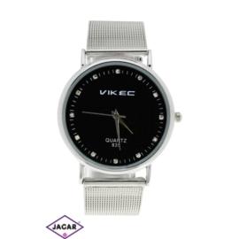 Zegarek damski - srebrny - szer: 4 cm Z153