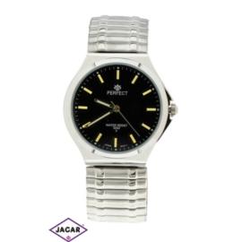 Zegarek męski - srebrny - szer: 4 cm Z154