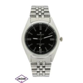 Zegarek męski - srebrny - szer: 4 cm Z155