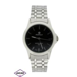 Zegarek męski - srebrny - szer: 4 cm Z156