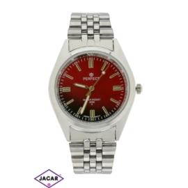 Zegarek męski - czerwony - szer: 4 cm Z159