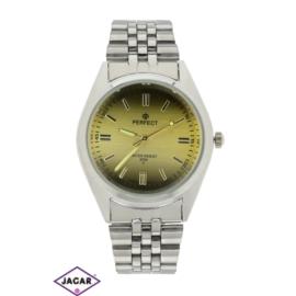 Zegarek męski - złoty mat - szer: 4 cm Z160