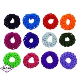 Kolorowe gumki do włosów - 24 szt/op - OG94