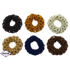 Kolorowe gumki do włosów - 24 szt/op - OG96