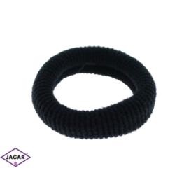 Czarne gumki do włosów - 40 szt/op - OG100
