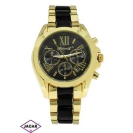 Zegarek damski - złoty - szer: 4 cm Z161