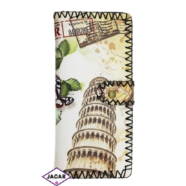 Szykowny portfel damski z nadrukiem - P111