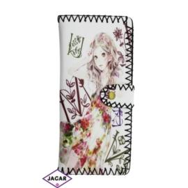 Szykowny portfel damski z nadrukiem - P112