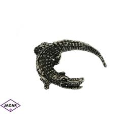 Broszka - krokodyl - 4,5cm BR168