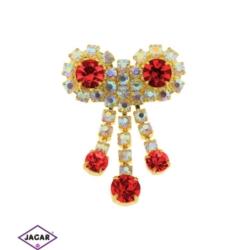 Broszka - kryształy - 5cm BR209