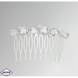 Ślubny grzebyk do włosów - JABLONEX -SGR4
