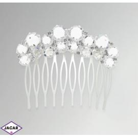 Ślubny grzebyk do włosów - JABLONEX -SGR7