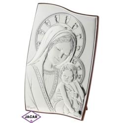 Święty Obrazek Posrebrzany 15cm x 22cm OBS2