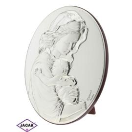Święty Obrazek Posrebrzany 14cm x 18cm OBS6