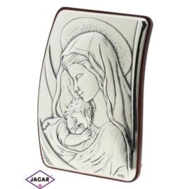 Święty Obrazek Posrebrzany 7cm x 9,5cm OBS12