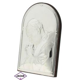 Święty Obrazek Posrebrzany 6cm x 9cm OBS13