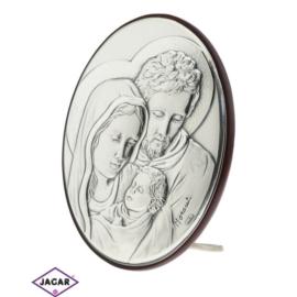Święty Obrazek Posrebrzany 7,5cm x 9,5cm OBS14