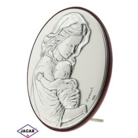 Święty Obrazek Posrebrzany 7,5cm x 9,5cm OBS15