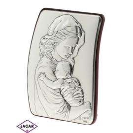 Święty Obrazek Posrebrzany 7cm x 9,5cm OBS22