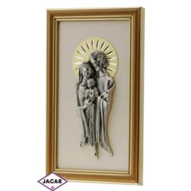 Święty Obrazek Posrebrzany 13,5cm x 23cm OBS25