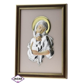 Święty Obrazek Posrebrzany 19cm x 24,5cm OBS28