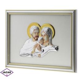 Święty Obrazek Posrebrzany 24,5cm x 18,5cm OBS29