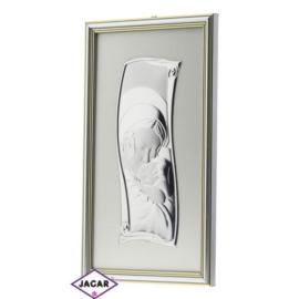 Święty Obrazek Posrebrzany 18,5cm x 32,5cm OBS30