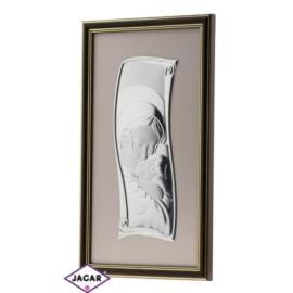 Święty Obrazek Posrebrzany 18,5cm x 32,5cm OBS31