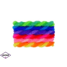 Kolorowe gumki do włosów - 50szt/op - OG108