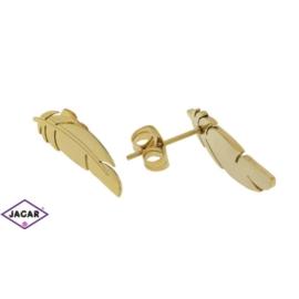 Kolczyki pozłacane - celebrytka - 2,5cm EAP770