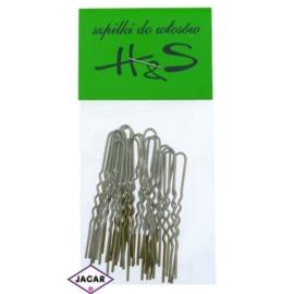 Szpilki do włosów - złote - 100szt dł. 4,5cm WS32