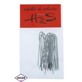 Szpilki do włosów metaliczne 100szt dł. 5cm WS35