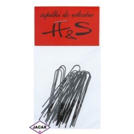 Szpilki do włosów - brąz - 100szt dł. 5cm WS36