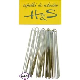 Szpilki do włosów k.miedziany 100szt dł 6,5cm WS45