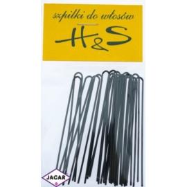 Szpilki do włosów - czarne 100szt dł 6,5cm WS46