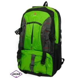 Plecak młodzieżowy - czarno-zielony - PL03