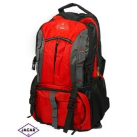 Plecak młodzieżowy - czarno-czerwony - PL04