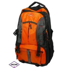 Plecak młodzieżowy - czarno-pomarańczowy - PL05
