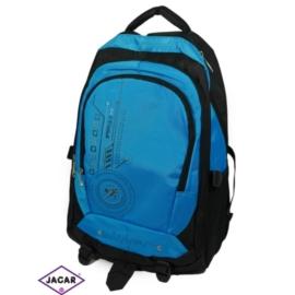 Plecak młodzieżowy - czarno-niebieski - PL08