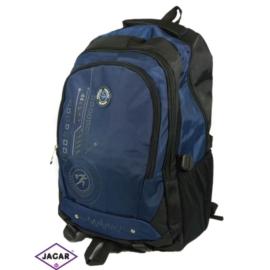 Plecak młodzieżowy - czarno-granatowy - PL09