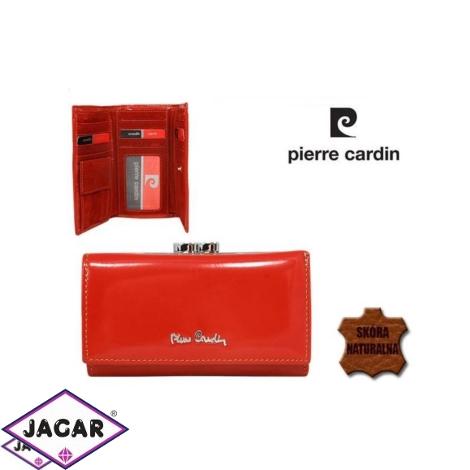 Skórzany portfel damski - Pierre Cardin - P154