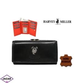 Skórzany portfel damski - Harvey Miller - P155