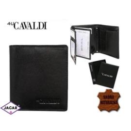 Skórzany portfel męski - 4U Cavaldi - P156