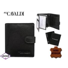 Skórzany portfel męski - 4U Cavaldi - P157