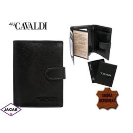 Skórzany portfel męski - 4U Cavaldi - P158